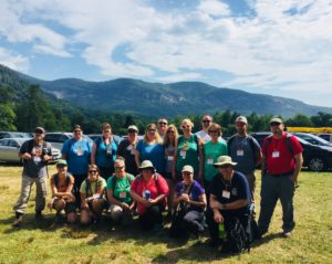 Image of teachers at the 2018 Forest to Classroom: Fire Focus Program