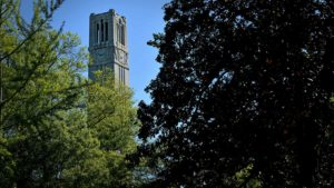 Cover photo for NC State Awarded Designation as Tree Campus USA